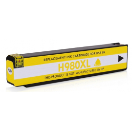 HP 980 AMARILLO CARTUCHO DE TINTA PIGMENTADA COMPATIBLE (D8J09A)