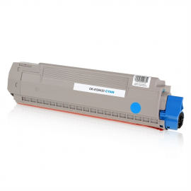OKI EXECUTIVE ES8430/ES8460MFP CYAN CARTUCHO DE TONER COMPATIBLE