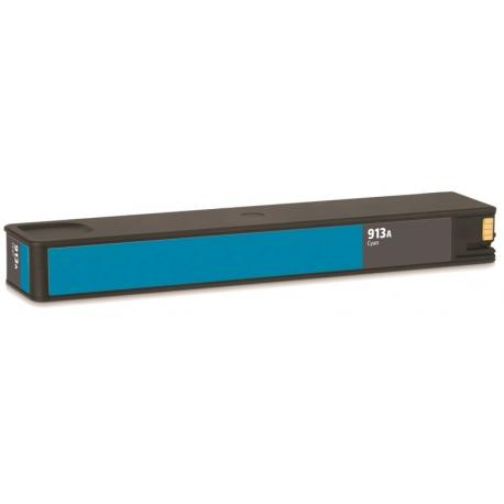 HP 913A V10 CYAN CARTUCHO DE TINTA PIGMENTADA COMPATIBLE (F6T77AE)
