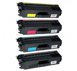 PACK 4 BROTHER TN910 CMYK CARTUCHOS DE TONER COMPATIBLES (TN-910)