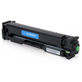 HP CF401X CYAN CARTUCHO DE TONER COMPATIBLE Nº201X