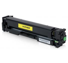 HP CF402X AMARILLO CARTUCHO DE TONER COMPATIBLE Nº201X