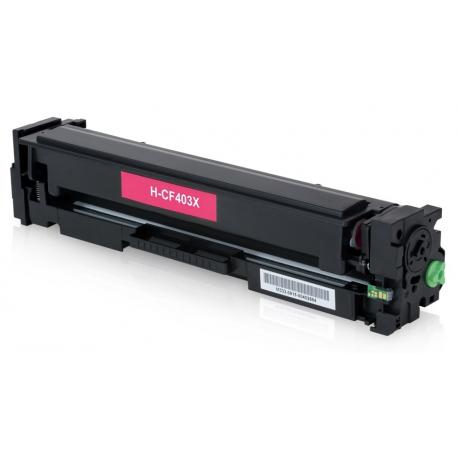 HP CF403X MAGENTA CARTUCHO DE TONER COMPATIBLE Nº201X