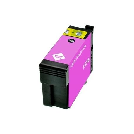EPSON T1576 MAGENTA LIGHT CARTUCHO DE TINTA PIGMENTADA COMPATIBLE (C13T15764010)
