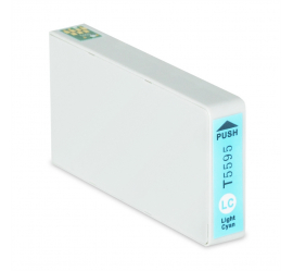 EPSON T5595 CYAN LIGHT CARTUCHO DE TINTA COMPATIBLE (C13T55954010)
