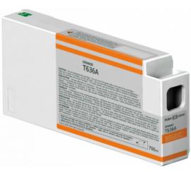 EPSON T636A00 NARANJA CARTUCHO DE TINTA COMPATIBLE (C13T636A00)