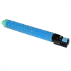 RICOH AFICIO MP-C3002/MP-C3502 CYAN CARTUCHO DE TONER COMPATIBLE (842019/841654/841742)