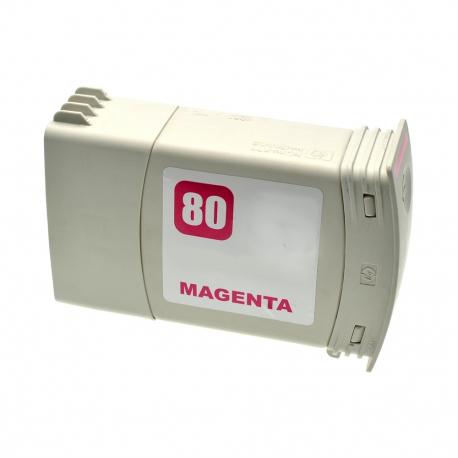 HP 80 MAGENTA CARTUCHO DE TINTA COMPATIBLE (C4847A)