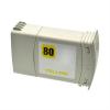 HP 80 AMARILLO CARTUCHO DE TINTA COMPATIBLE (C4848A)