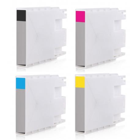 PACK 4 EPSON T9081/T9082/T9083/T9084 CMYK CARTUCHOS DE TINTA PIGMENTADA COMPATIBLES