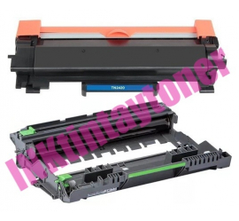 PACK BROTHER TN2420/DR2400 V2 CARTUCHO DE TONER Y TAMBOR DE IMAGEN (DRUM) COMPATIBLES PREMIUM (CON CHIP)