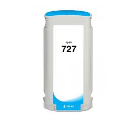 HP 727 CYAN CARTUCHO DE TINTA COMPATIBLE (B3P19A/F9J76A)