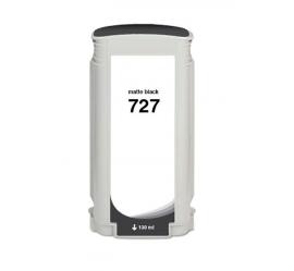 HP 727 NEGRO MATE CARTUCHO DE TINTA COMPATIBLE (B3P22A/C1Q12A)