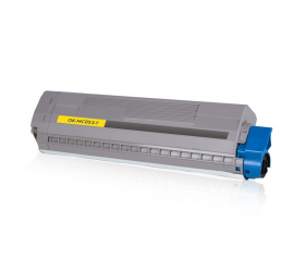 OKI MC853/MC873 AMARILLO CARTUCHO DE TONER COMPATIBLE (45862837)