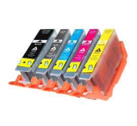 PACK CANON PGI580XXL/CLI581XXL CMYK CARTUCHOS DE TINTA COMPATIBLES