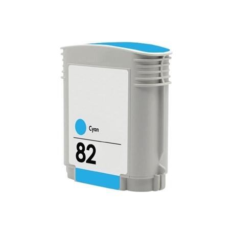 HP 82 CYAN CARTUCHO DE TINTA COMPATIBLE (C4911A)