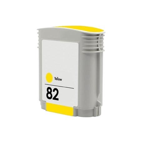 HP 82 AMARILLO CARTUCHO DE TINTA COMPATIBLE (C4913A)