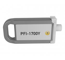 CANON PFI1700/PFI1300/PFI1100 AMARILLO CARTUCHO DE TINTA PIGMENTADA COMPATIBLE (0778C001/0814C001/0853C001)