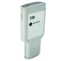 HP 728XL NEGRO MATE CARTUCHO DE TINTA PIGMENTADA COMPATIBLE (F9J68A/F9J64A)