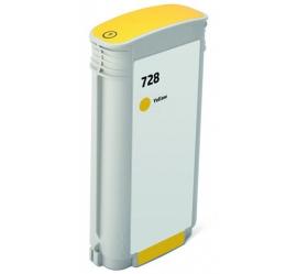 HP 728XL AMARILLO CARTUCHO DE TINTA PIGMENTADA COMPATIBLE (F9J65A/F9J61A)