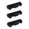 PACK 3 HP CF244A XL NEGRO CARTUCHOS DE TONER COMPATIBLES Nº 44A (CHIP ACTUALIZADO)