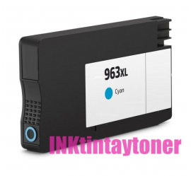 HP 963XL CYAN CARTUCHO DE TINTA COMPATIBLE (3JA27AE/3JA23AE)