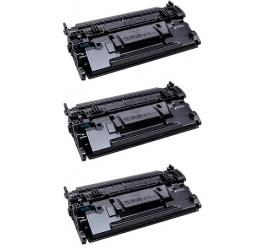PACK 3 HP CF289A NEGRO CARTUCHOS DE TONER COMPATIBLES Nº89A (SIN CHIP)