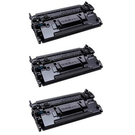 PACK 3 HP CF289X NEGRO CARTUCHOS DE TONER COMPATIBLES Nº89X (SIN CHIP)