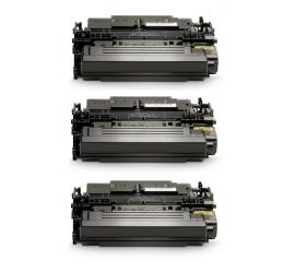 PACK 3 HP CF289Y NEGRO CARTUCHOS DE TONER COMPATIBLES Nº89Y (SIN CHIP)