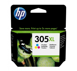HP 305XL TRICOLOR CARTUCHO DE TINTA ORIGINAL (3YM63AE)