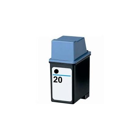 HP 20 NEGRO CARTUCHO DE TINTA COMPATIBLE (C6614DE)