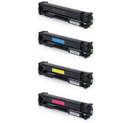 PACK 4 HP W2410A/W2411A/W2412A/W2413A CMYK CARTUCHOS DE TONER COMPATIBLES Nº216A (SIN CHIPS)