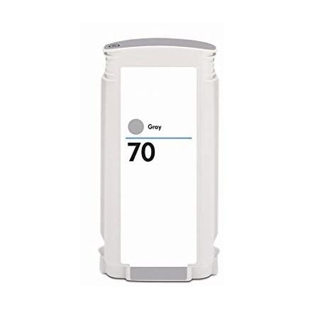 HP 70 GRIS CARTUCHO DE TINTA PIGMENTADA COMPATIBLE (C9450A)