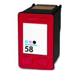 HP 58 TRICOLOR PHOTO CARTUCHO DE TINTA COMPATIBLE (C6658AE)