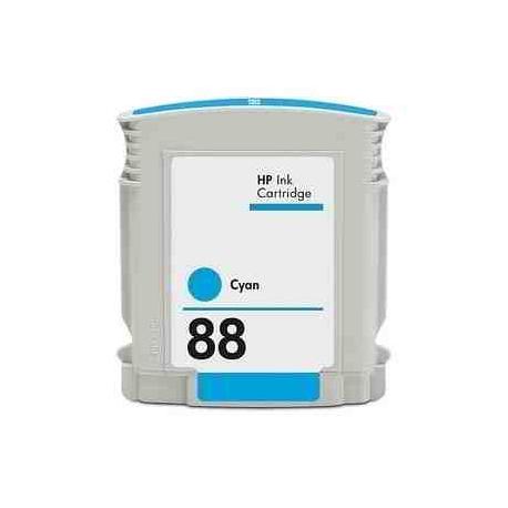 HP 88XL CYAN CARTUCHO DE TINTA COMPATIBLE (C9391AE)