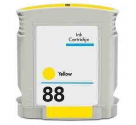 HP 88XL AMARILLO CARTUCHO DE TINTA COMPATIBLE (C9393AE)