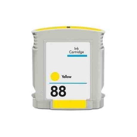HP 88XL AMARILLO CARTUCHO DE TINTA COMPATIBLE (C9393AE)