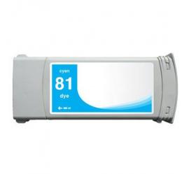 HP 81 CYAN CARTUCHO DE TINTA COMPATIBLE (C4931A)