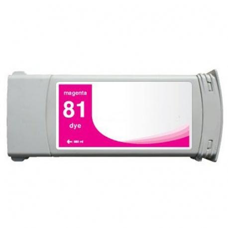 HP 81 MAGENTA CARTUCHO DE TINTA COMPATIBLE (C4932A)
