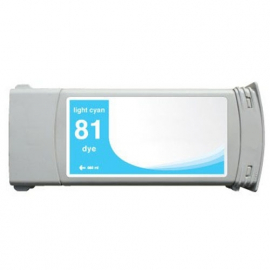 HP 81 CYAN LIGHT CARTUCHO DE TINTA COMPATIBLE (C4934A)